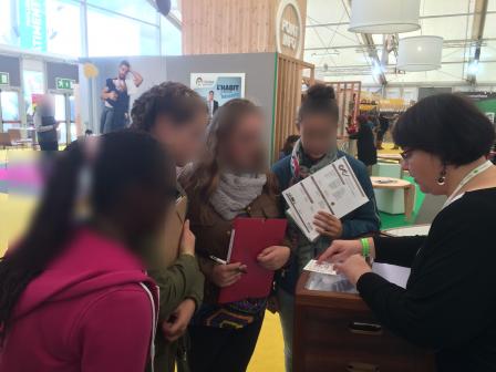 Parcours avenir aux artisanales de chartres coll ge for Pronote college jean moulin salon
